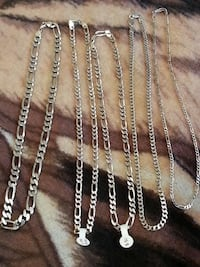 925 Sterling silver Necklaces. Different  prices..