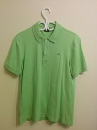 LACOSTE Green Polo, Size 5 (Large- Slim fit)      Toronto