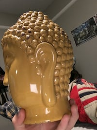 Glass Buddha Head Bountiful, 84010
