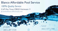 Affordable pool maintenance!! Bakersfield, 93311