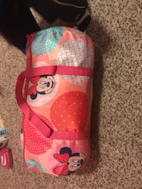 pair of red-and-white Mickey Mouse shoes 363 mi