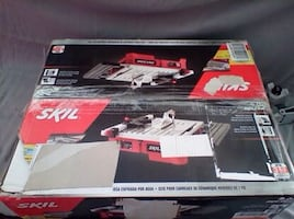 Skil 7 wet tile saw 3550-02