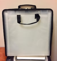 Black & White Portable Paper Craft Case Winnipeg, R3E 1Y6