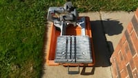 Rigid 8in R4040 wet saw/ tile saw Moore, 73160