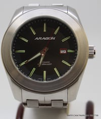 Pre-owned ARAGON Watch NH35 24 Jewels. Automatic, 50mm Case, Stainless Steel Royal Palm Beach