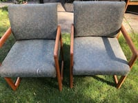 Set of 5 cushioned chairs as shown in picture Mississauga, L5H 2A7