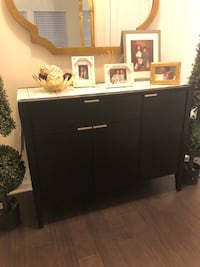 Crate and barrel sideboard (black) excellent condition selling it because color does not go with the new house we have.  Dumfries, 22026