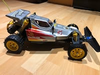 black and yellow RC car toy Vancouver, V5N 3E2