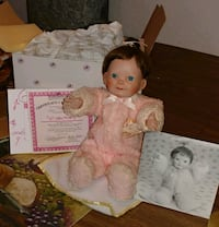 Porcelain doll condition is very good!!! Albuquerque, 87121