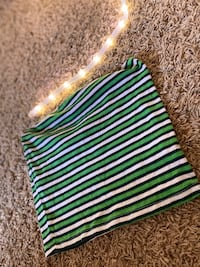 Green and white tube top size S-M Grand Junction, 81504