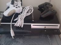white Sony PS4 console with two controllers Bradford, BD3