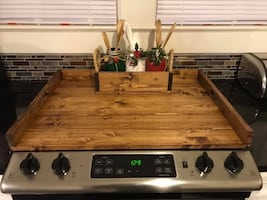 Noodle board / stove top counter