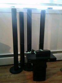 black and gray home theater system Edmonton, T6A 1H5