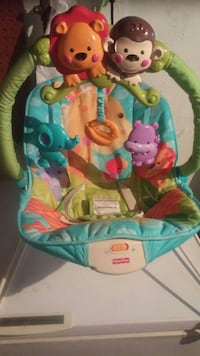 Infant vibrating bouncy chair Niagara Falls, L2G 4P4
