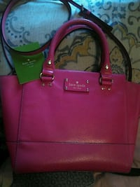 pink Kate Spade leather tote bag Regina, S4T 5S2
