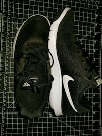 pair of black Nike running shoes Fresno