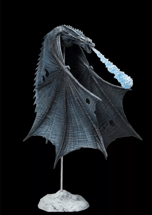 Game of Thrones Viserion Ice Dragon Figurine