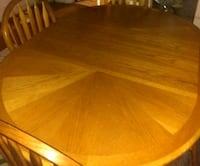 Wooden dining table Hamtramck