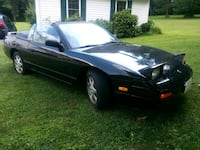 Nissan 240SX Black convertible Cooksville