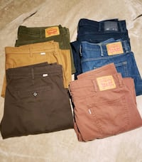 Levi Jeans and Pants