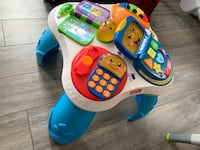 Fisher-price learning table 乔治娜, L4P 2N9