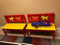 Kids benches with 3 wall frames Ashburn, 20148