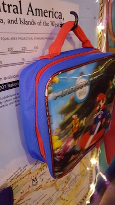 Mario Kart bag with holographic