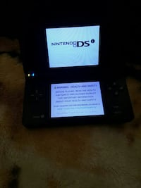 black Nintendo DSI with charger McComb, 39648