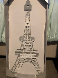 Paris collection metal wall decor two eiffel towers Oceanside, 92056