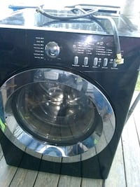 Front load washer and dryer set they black  Abbeville, 70510