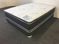 Queen Double Sided Pillow Top Set  Huntington Park