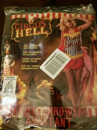 New-In Bag Juniors Circus Hell Custome  Forney, 75126