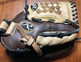 "Rawlings Playmaker Series PM709RPU Right Handed Thrower Baseball Glove, sz 10.5"" for Left Hand"