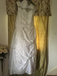 Large wedding gown
