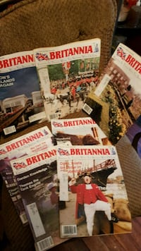 Vintage 1994 Brittania UK Magazine Lot