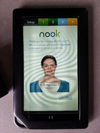 Color Nook book e-reader from Barnes & Noble Escondido, 92025
