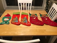Brand new cat christmas stockings