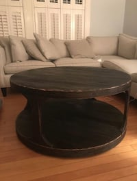 Rustic coffee table in great condition. Originally $300. Need to sell because I'm moving. Can drop off table depending on distance :)  Somerville, 02143