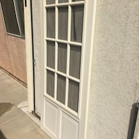 Fiberglass screen door
