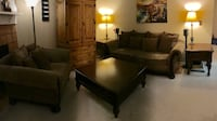 Bernhardt Living Room Set - Chair, Two End Tables, Coffee Table Newark, 94560