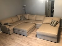 Complete sectional with ottoman Alexandria, 22315
