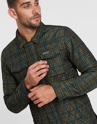 NWT! $300 Scotch & Soda Green Quilted Jacket men's