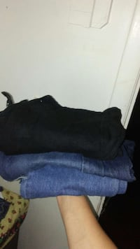 3pair of size 14 jeans boys