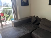 Comfy, brown couch! Miami, 33137