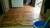 I can do professional flooring, interior wood work London