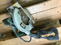 Mitred circular saw by B & D