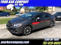 Honda Civic Sdn 2013 Norfolk