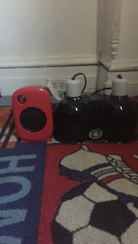 red and black portable speaker Allentown, 18102