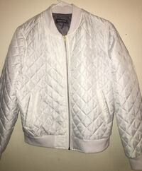 QUILTED WHITE BOMBER JACKET Toronto, M1J 1J5