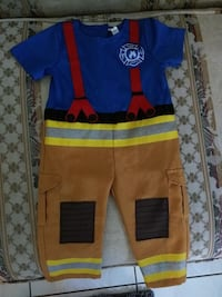 Halloween toddle firefighter costume 12-24 months Miami Gardens, 33056
